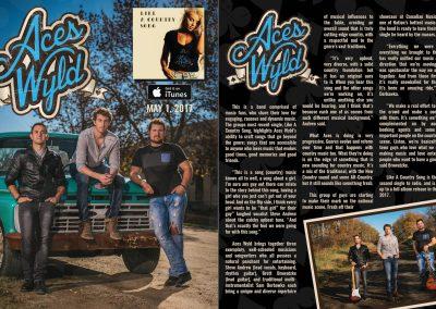 AcesWyld - Band Info Promo Sheet
