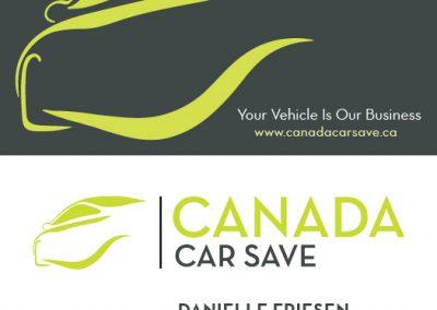 Canada Car Save - Business Cards