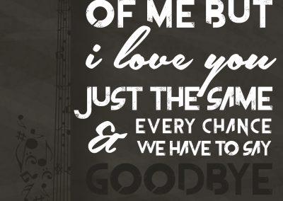 Janai Watson - Lyric Poster