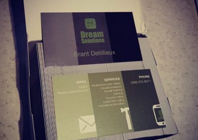Dream Solutions - Business Cards