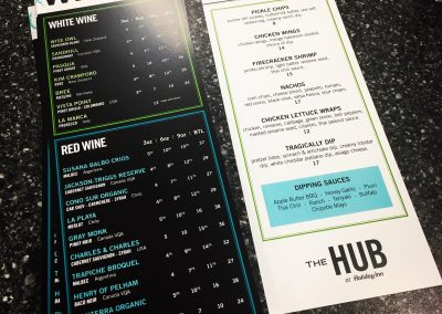 The Holiday Inn Downtown - Wine List 3