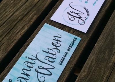JW Graphics - Business Cards
