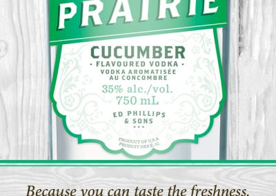 Prairie Organic Spirits - Cocktail Menu