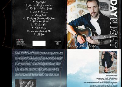 Tommy Ehman - CD Sleeve