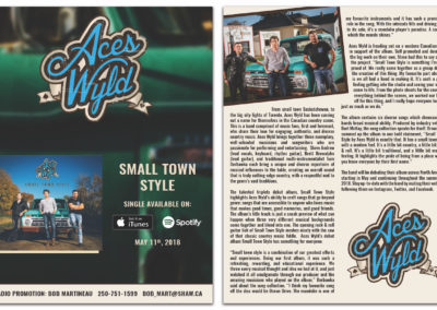 Aces Wyld - Small Town Style Release Info Sheet