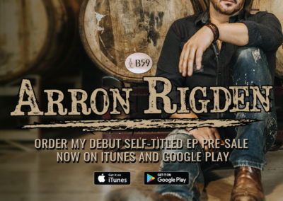 Arron Rigden - Album Release