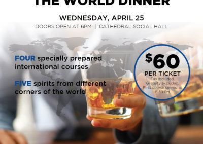 Cathedral Social Hall - Spirits Around World Poster